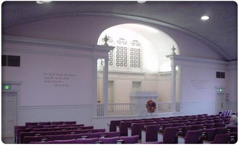 Inside First Church Christ Scientist, Hayward